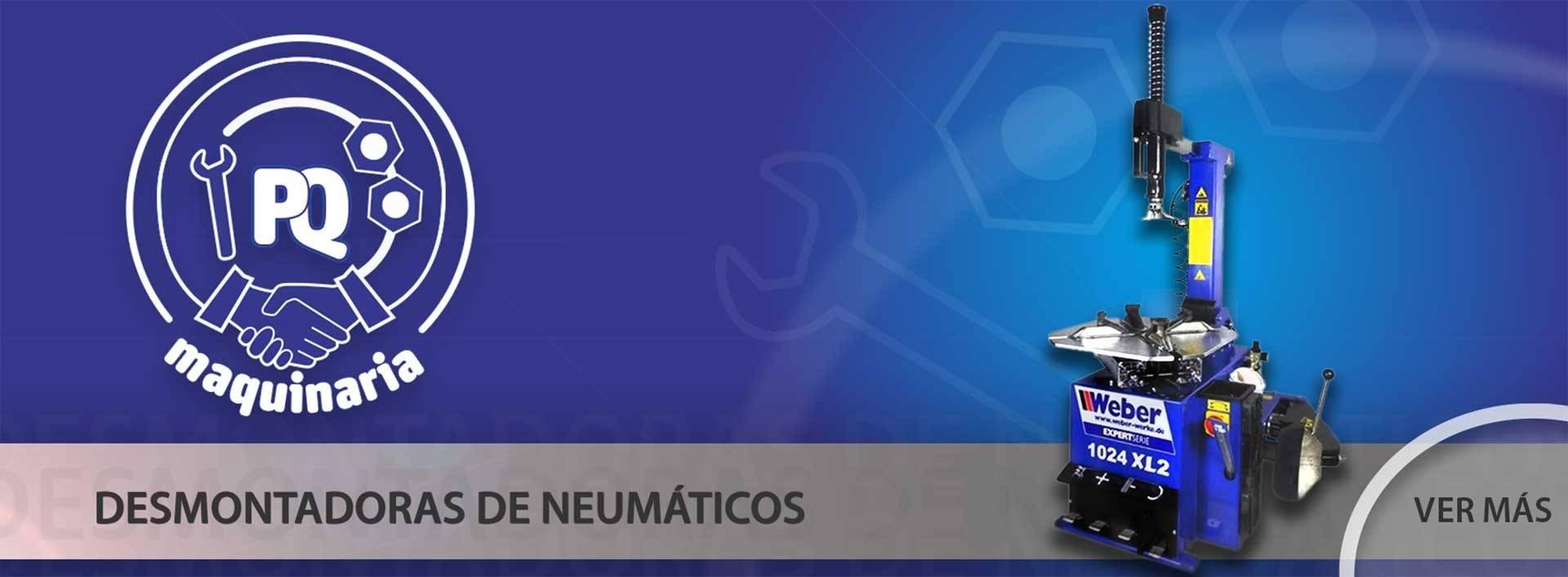 DESMONTADORAS DE NEUMÁTICOS